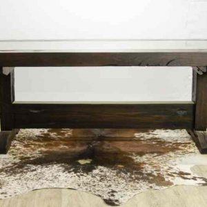 Ironwood Sleeper Wood Dining Room Table