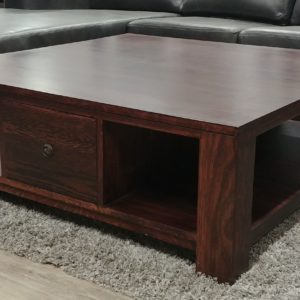 Oak Coffee Table with 1 Drawer
