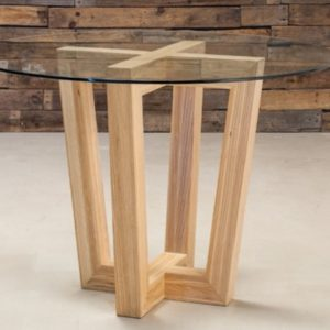Blanco Round Coffee Table