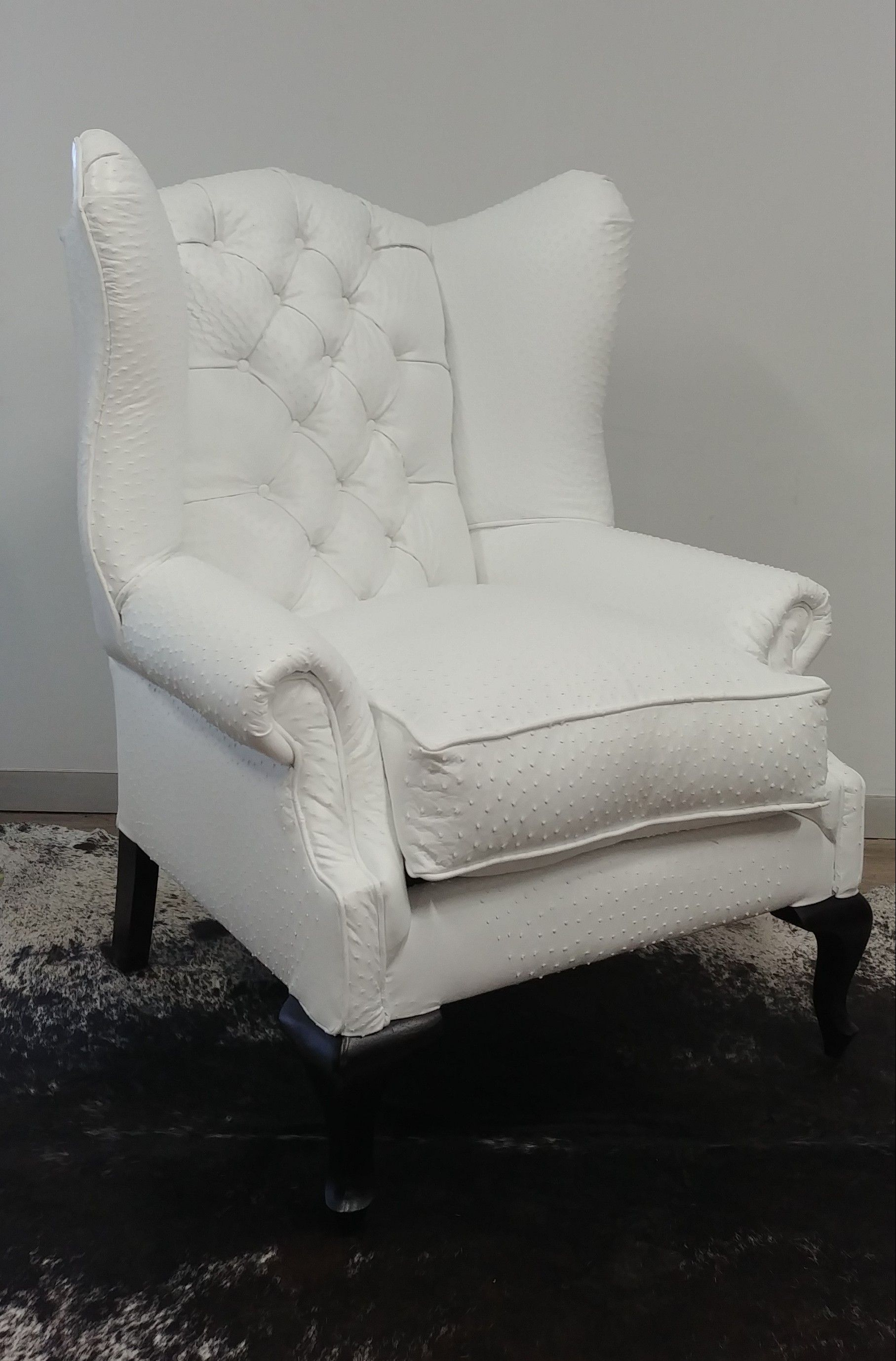 Ostrich Norfolk Wingback Ellis Furniture