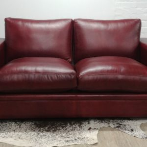 Triple X Square Arm Two Seater Sofa