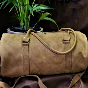 Leather Travel Bag – Small