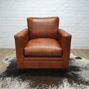 Condo Sofa – Single Seater in Oryx Butterscotch